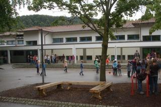 Schulhof der Schurhammerschule