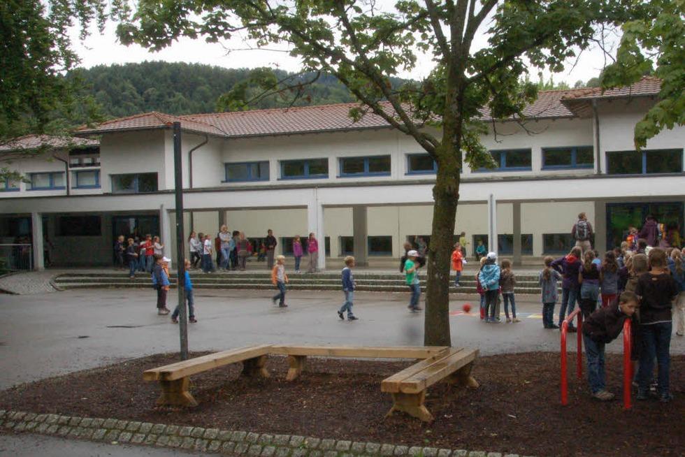 Schulhof der Schurhammerschule - Glottertal