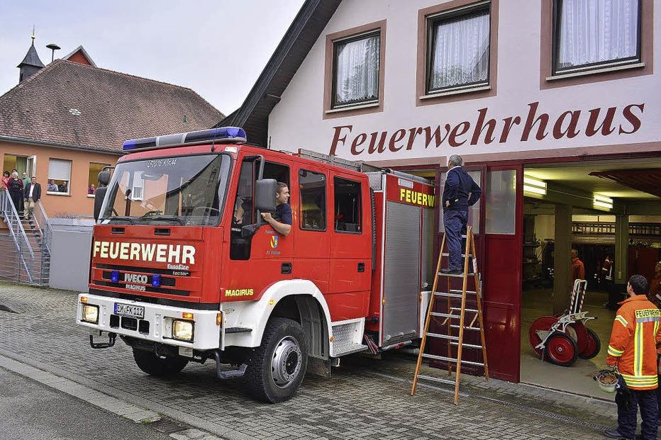 Feuerwehrgerätehaus - Malterdingen
