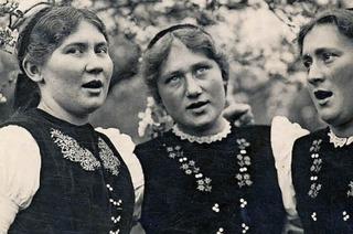 """Auf dem Bernethansenhof lernten die """"Glottertäler Nachtigallen"""" das Singen"""
