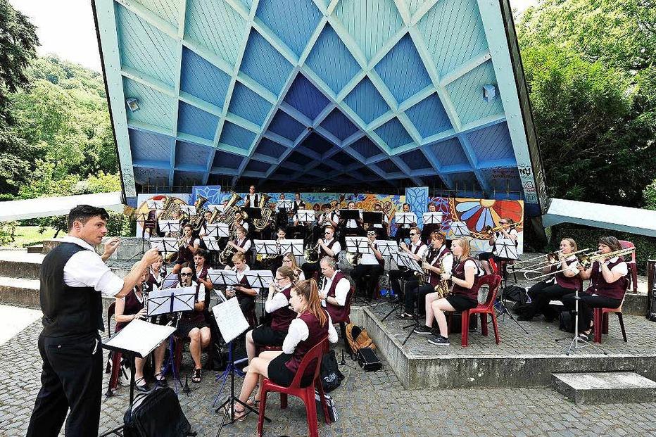 Musikpavillon im Stadtgarten - Freiburg