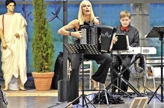 Christine Schmid und Ensemble Prima la Musica in Badenweiler