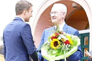 Adrian Probst ist neuer Bürgermeister von St.Blasien