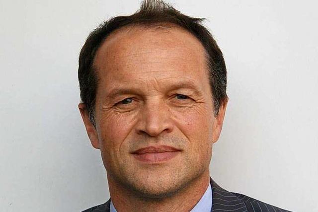 Georg Binkert will Bürgermeister von Herbolzheim werden