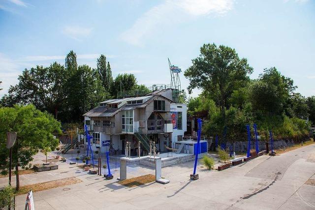 Kunstraum Kieswerk Dreiländergarten (gegenüber vom Hadid Pavillon)
