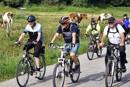 Fotos: BZ Ferienaktion Fahrradtour zum Studienhaus Wiesneck