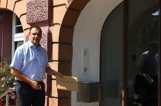 Bernd Dosch bewirbt sich als Bürgermeister von Herbolzheim