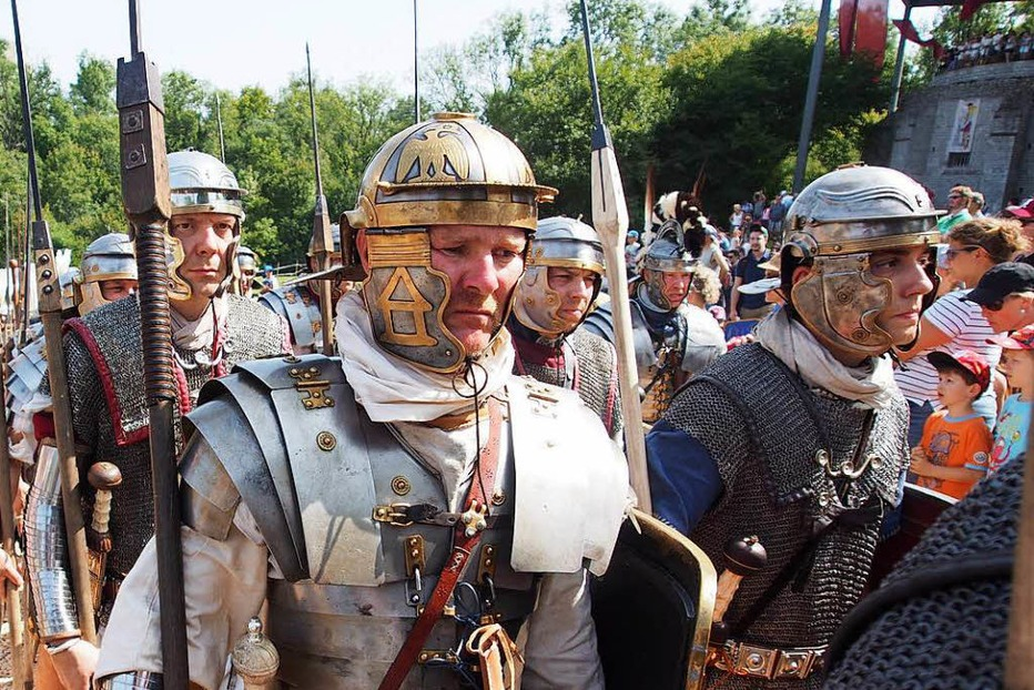 Fotos: Römerfest in Augusta Raurica