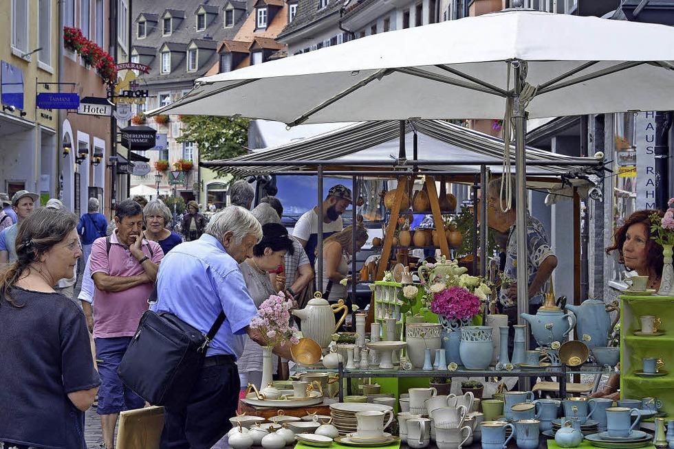 Der Freiburger Kunst- und Handwerkermarkt beginnt am Donnerstag, 31. August - Badische Zeitung TICKET