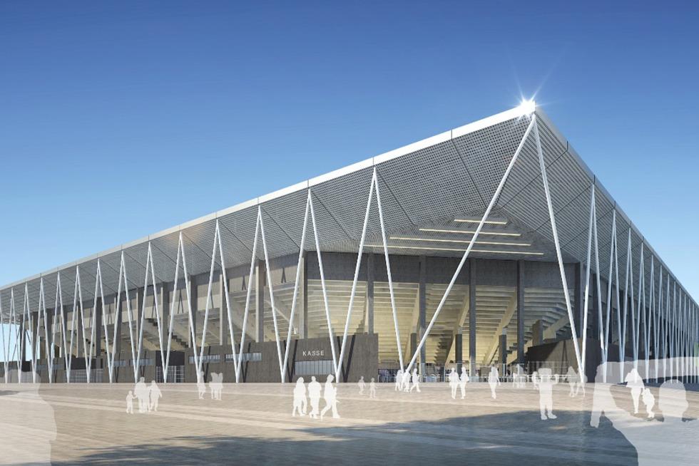 So soll das neue Stadion für den SC Freiburg aussehen - Badische Zeitung TICKET