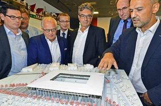 """Stadionarchitekt Antonino Vultaggio: """"Das wird ein richtiger Kessel werden"""""""