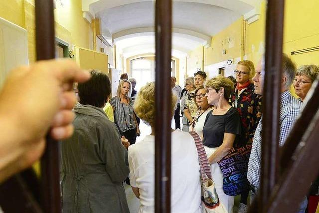 BZ-Leser gehen bei der Ferienaktion hinter Gitter