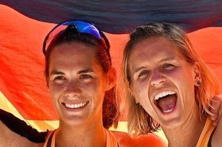 Ein Denzlinger managt die Golden Girls im Beachvolleyball
