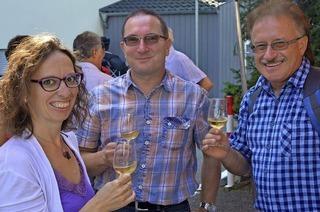 Tüllinger Weinmarkt im Dorfkern