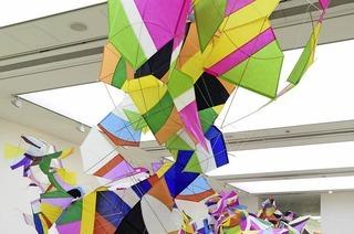 "Marcelo Jácome zeigt ""Raum Farbe"" in der Stiftung Brasilea in Basel"