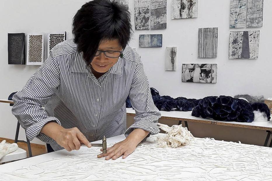 """Gastkünstlerin Wei Lin Yang aus Taiwan mit """"Ein Guete, Weil am Rhein"""" im Weiler Stapflehus - Badische Zeitung TICKET"""