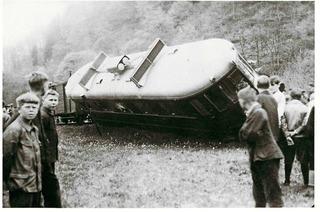 Obere Wiesentalbahn hat manch Unfall, Erdrutsch und Fliegerangriff überstanden