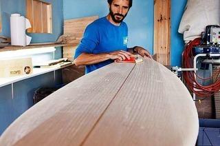 Yellowfoot baut einzigartige Surfbretter aus Holz in Freiburg