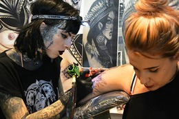 Fotos: Die Tattoo & Art Show 2017 im Lörracher Burghof
