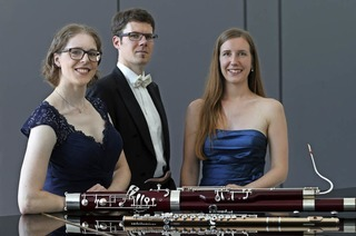 Kammermusikabend mit der Pianistin Melanie Bähr, der Flötistin Kathrin Bäz-Lösch und dem Fagottisten Daniel Bäz in Friesenheim