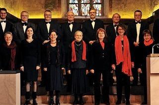 Kammerchor Etteeim gibt zwei Konzerte