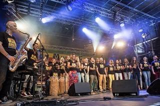 Am Sonntag, 22. Oktober, singt die Soulfamily in Freiburg
