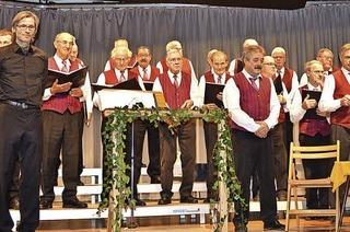 Mit Chorgemeinschaft Dreiklang in Friedenweiler-Rötenbach