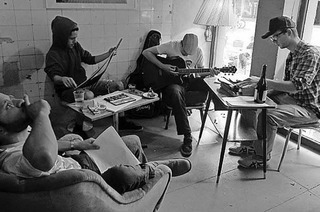 Lesung im Café Satz mit Eucalypdos