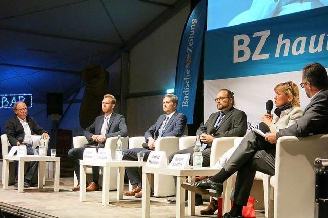 Zur BZ-Podiumsdiskussion zur Ihringer Bürgermeisterwahl kamen mehr als 1000 Bürger