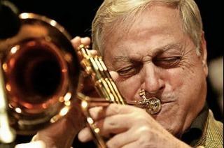 Gustl Mayer und Dusko Goykovich im Lörracher Jazztone