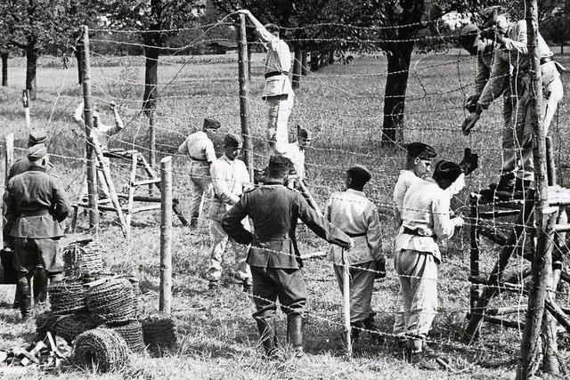 Ausstellung über die Flucht in die Schweiz im Weltkrieg