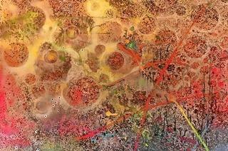 Kunst im Petershof in Basel mit Lörracher Künstlerin Dina Rosas