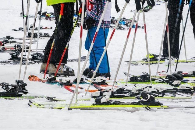 Skilifte an der Schwarzwaldhochstraße