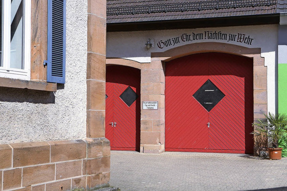 Feuerwehrgerätehaus - Schuttertal