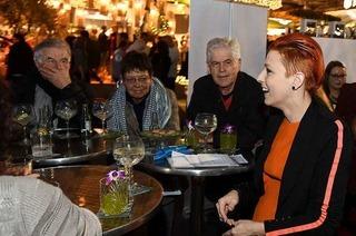 Spitzenköche plaudern auf der Plaza Culinaria mit BZ-Lesern über Genusswelten