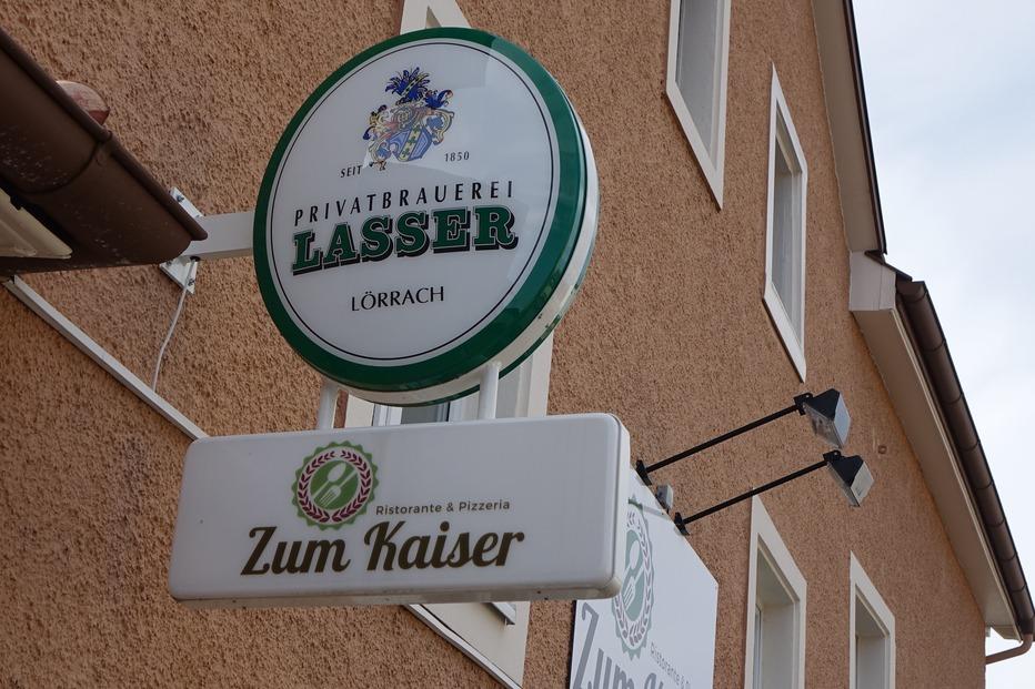 Gasthaus Zum Kaiser (Bühne) - Rheinfelden