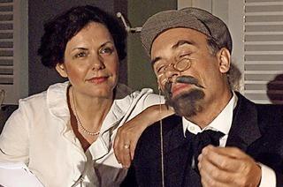 Szenische Darstellung mit Petra Seitz und Martin Lunz in Badenweiler