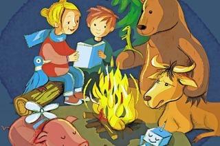 "26. Kinderbuchmesse Lörracher Leselust im Burghof zum Thema ""Freundschaften"""