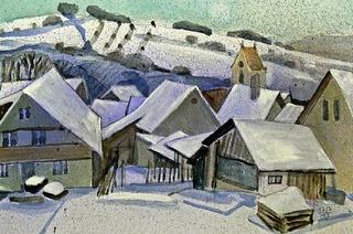 """Winterbilder unter dem Titel """"Kunst:Schnee"""" in Müllheim"""