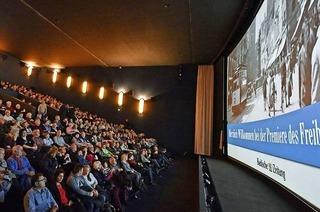 Historischer Freiburg-Film verwandelt Cinemaxx in Zeitmaschine