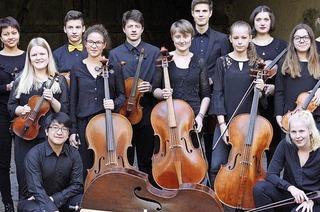 Das Landesjugendbarockorchester Baden-Württemberg konzertiert in der Pfarrkirche St. Gallus in Kirchzarten