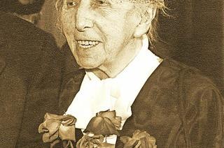Kritisch-poetischen Blütenlese aus dem Werk der Schriftstellerin Annette Kolb in Badenweiler
