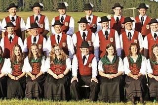 Mit dem Musikverein Schollach und der Bläserjugend Eisenbach in Eisenbach