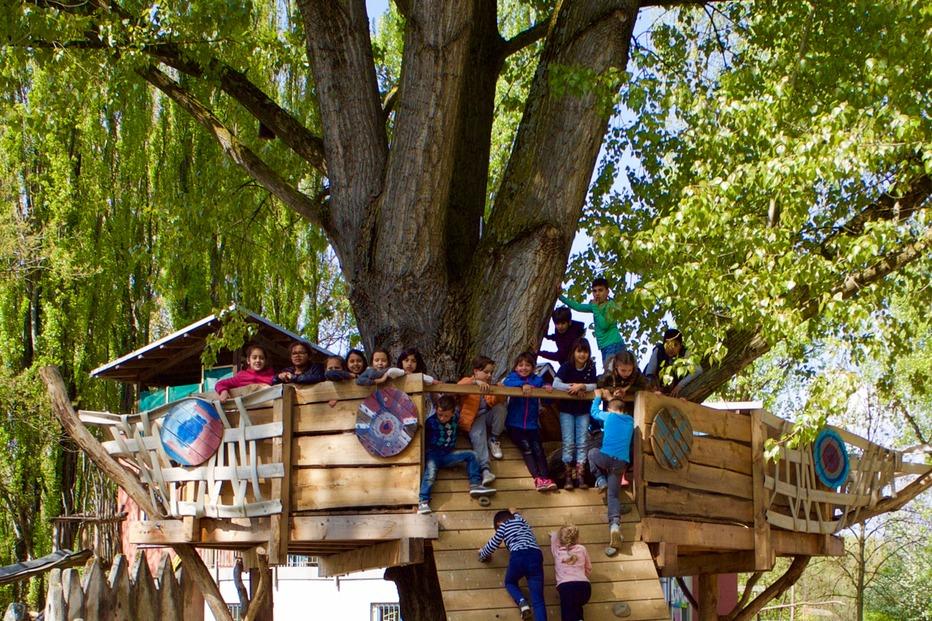 Abenteuerspielplatz Weingarten - Freiburg