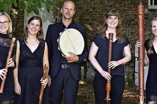 Das Flauto Consort in Freiburg und Schliengen, das Barockensemble L'Art du Bois im Freiburger Annakirchle