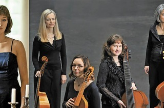 Les Escapades mit Solistin Miriam Feuersinger in der Martinskirche Gengenbach