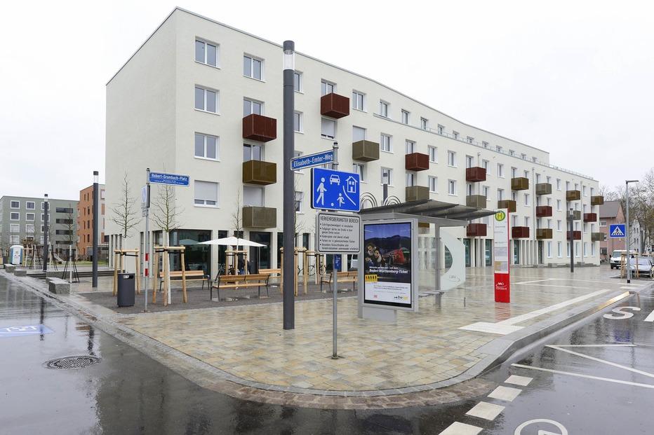 Robert-Grumbach-Platz (Mooswald) - Freiburg
