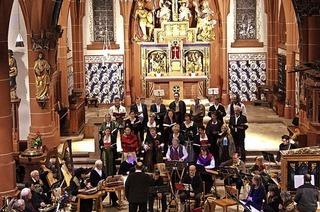 Ensemble des kleinen Freiburger Kantatenchors zu Gast in Neuenburg
