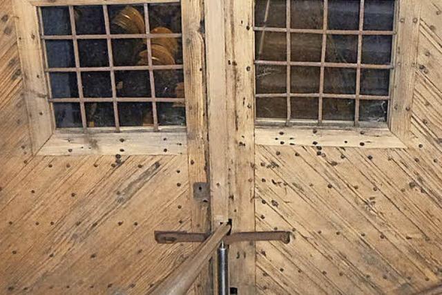 Am 17. Dezember dürfen Besucher hinter die Tür zum Schlosskeller in Ebringen treten