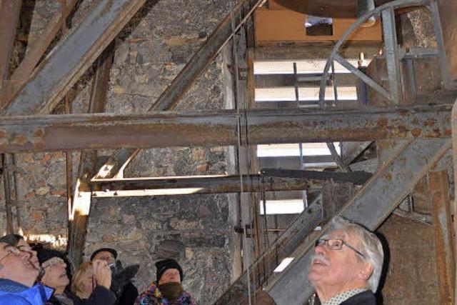 Geschichtsträchtige Turmbesichtigung der Lörracher Stadtkirche